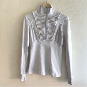 Lululemon Run: Your Heart Out Pullover in White